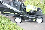 Аккумуляторная  газонокосилка GreenWorks GD80LM41 Pro 80V 41 см бесщёточная без АКБ и ЗУ, фото 4