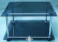 Стол сервировочный из стекла