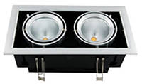 Светильник карданный потолочный 20W, Врезной LED светильники Downlight 20W