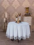 Святкова скатертина 160-350 овал, фото 4