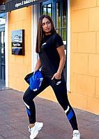 Костюм жіночий спортивний трійка в кольорах 43506, фото 1