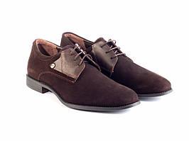 Туфлі Etor 13702-7257 коричневі