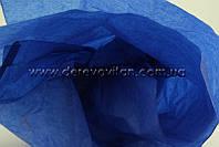 Бумага тишью, синяя, 50 на 75 см, 10 листов