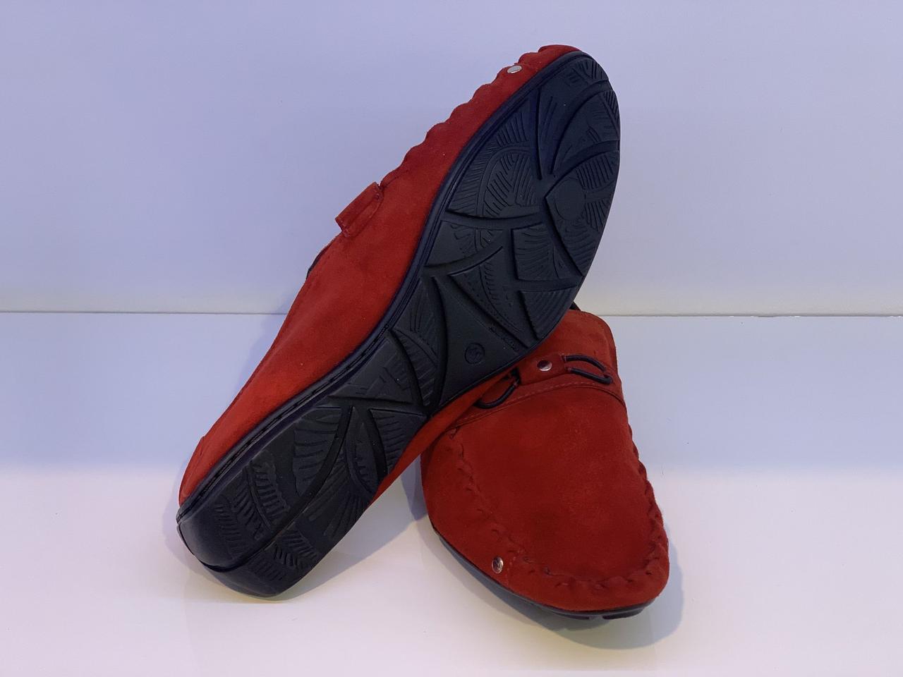 Мокасини Etor 7935-598-209 червоний