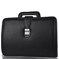 Портфель кожаный мужской WANLIMA (ВАНЛИМА) W62015010913-black