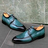 Туфлі Etor 16116-7310-200 бірюзовий, фото 1