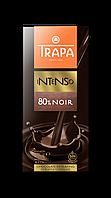 Шоколад черный без глютена с миндалем Intenso Trapa Испания 190г