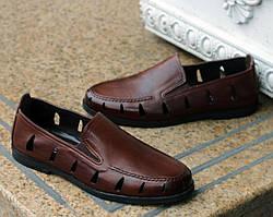 Туфлі Etor 16297-6589-204 коричневі