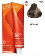 7/0 интенсивное тонирование - темный блондин коричневый (Londacolor), 60 мл