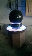 Фонтан шар гранитный, изготовление фонтанов из гранита