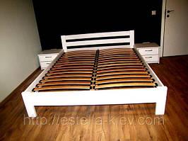 Букова ліжко Рената Естелла 160х200 (107) Біла