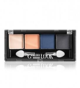 Тіні матові Glam Look 4-х кольорові 4г тон 03
