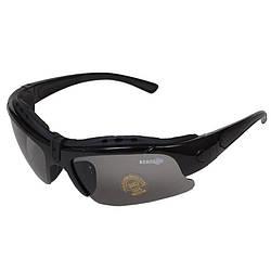 Очки тактические STR-41 с уплотнителем, серая линза с UV-фильтром