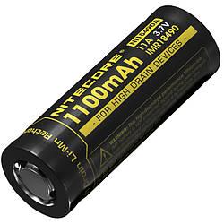 Літієвий акумулятор Li-Ion IMR 18490 Nitecore 3.7 V (1100mAh)
