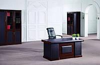 Стол руководителя 1,6 см., T1299C HC/V W88 (Mat)