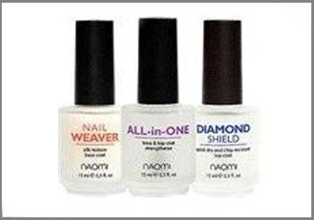 Профессиональные средства по уходу за ногтями Naomi