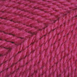 Пряжа для вязания Шетланд Чанки ярко розовый 610
