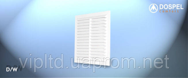 Вентиляционные решетки (ABS) DOSPEL D/235 W, Евросоюз, Польша - Интернет-магазин VIPLTD в Харькове