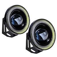 Фара доп. PL-1797 LED-2in1/12V-55W/D=85mm (PL-1797-LED), фото 1