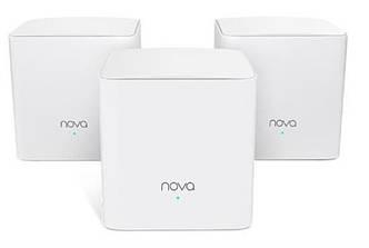 WiFi Mesh система Tenda Nova MW5s MESH MW5S-KIT-3 (AC1300, 2xGE/2FE, 3шт, Beamforming, MESH), фото 2