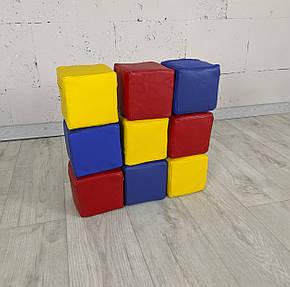 Мат-килимок Кубики 120-120-3 см TIA-SPORT, фото 2