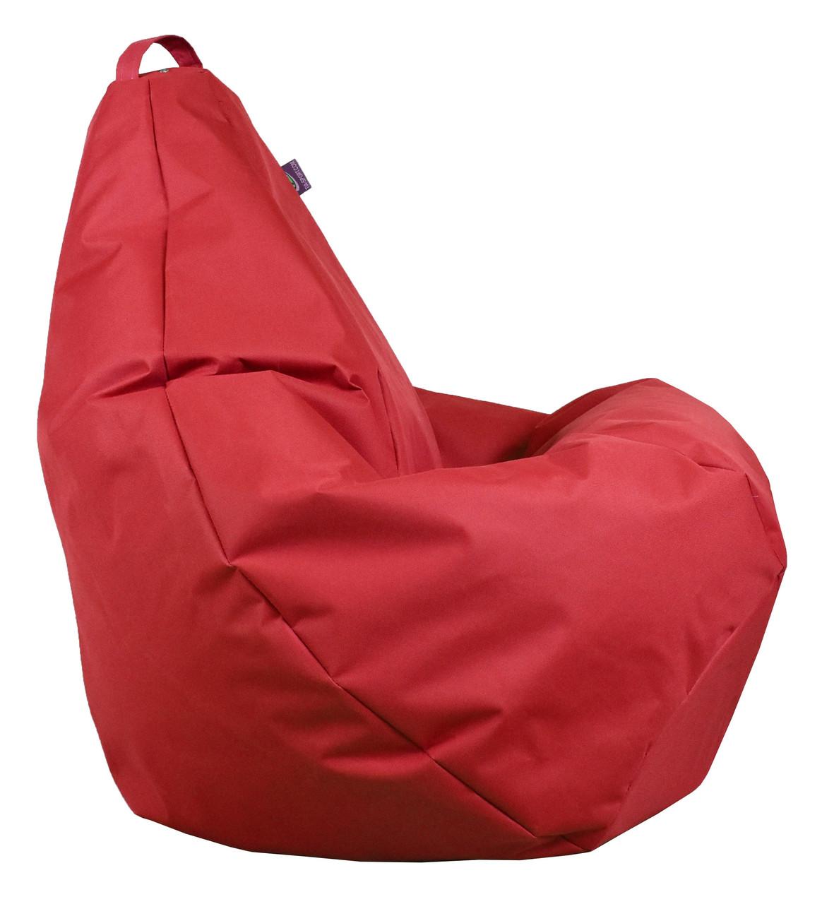 Кресло груша Оксфорд Красный TIA-SPORT