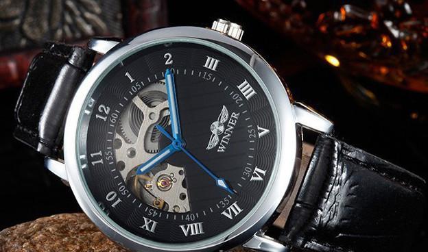 211391851695 Механические часы Winner Titanium - Интернет - магазин