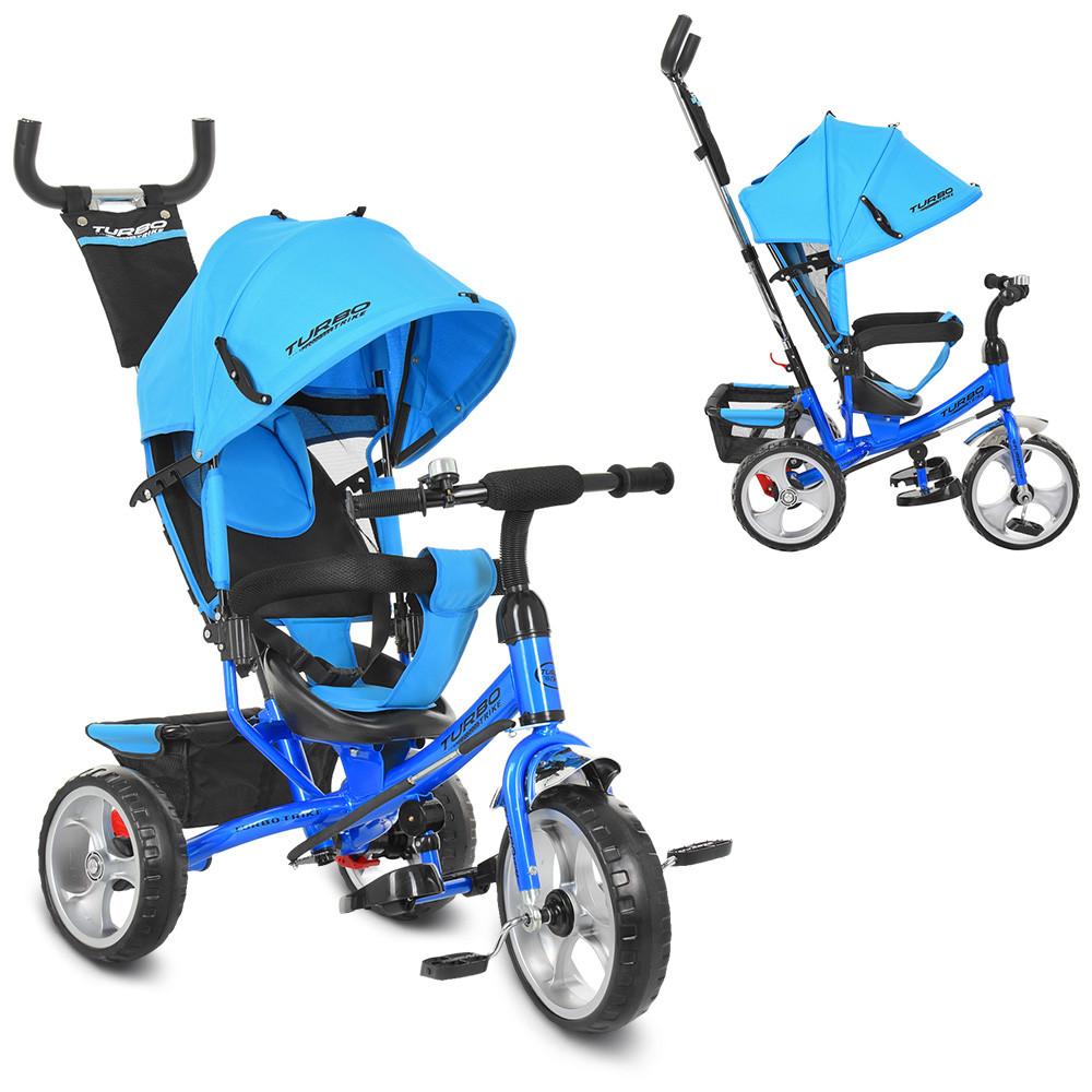 Велосипед трехколесный Bambi M 3113-5 Голубой