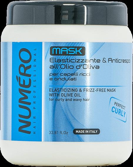 Маска для вьющихся волос Numero с оливковым маслом (1л.)