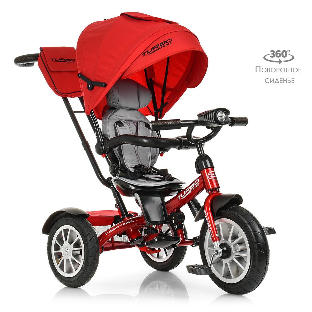 Велосипед трехколесный TURBOTRIKE M 4057-1 Красный
