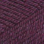 Пряжа для вязания Шетланд Чанки баклажан 611