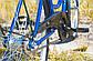 Велосипед жіночий міський Uniwersal 26 Blue з кошиком Польща, фото 2