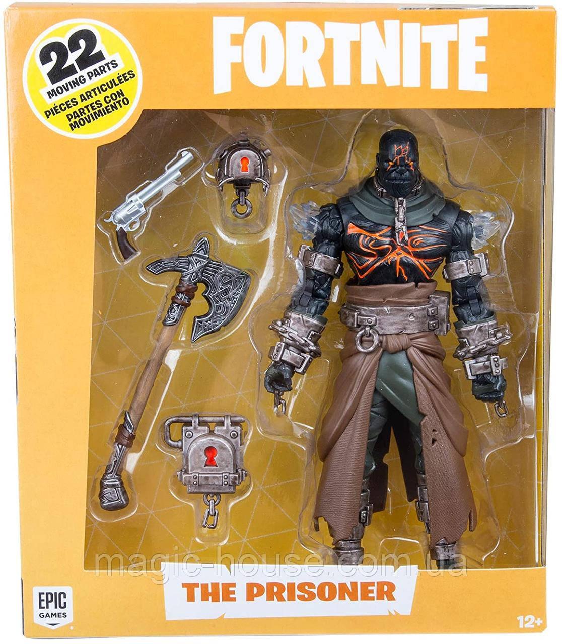 Колекційна фігурка Фортнайт Укладений McFarlane Toys Fortnite Prisoner Premium Action Figure