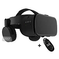 3D очки шлем виртуальной реальности с наушникам Unit VR BOBO MAX Z6 для смартфона IPhone/Android WIRELESS,