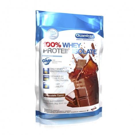 Протеин Quamtrax 100% Whey Protein Isolate, 2 кг Шоколад