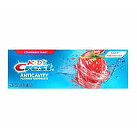 Crest kid's Дитяча зубна паста з фтором смак полуниці Cavity Protection Fluoride Toothpaste Strawberry Rush