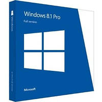 Microsoft Windows 8.1 Pro 32-bit/64-bit Ukrainian DVD BOX (FQC-07359) вскрытый