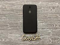 Чехол матовый черный на Xiaomi Redmi 8, фото 1