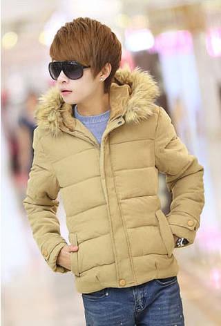 Мужской пуховик, зимняя куртка , фото 2