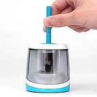 Электроточилка для карандашей Tihoo 8025 голубая