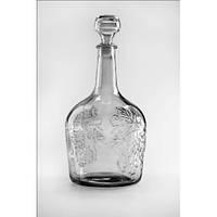 Бутылка Фуфирьок стеклянная 1,5л с крышкой 99242