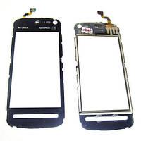 Nokia Сенсорный экран Nokia 5800 черный (копия)