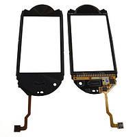 Samsung Сенсорный экран Samsung M7600 черный