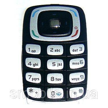 Nokia Клавиатура Nokia 6103 серебристая