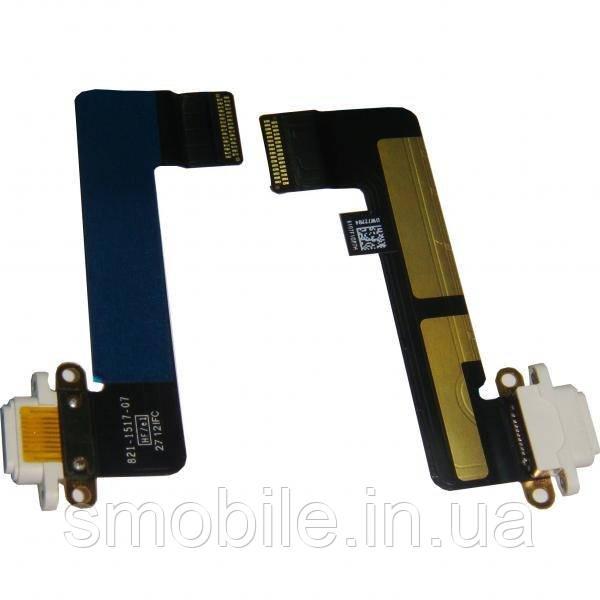 Apple Шлейф iPad Mini + разъем зарядки белый (оригинал)
