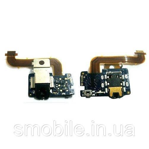 HTC Шлейф HTC Flyer в комплекте разъем под наушники (оригинал Китай)