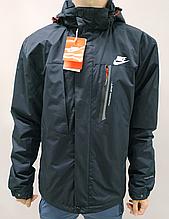 Ветровка мужская Nike т. синяя