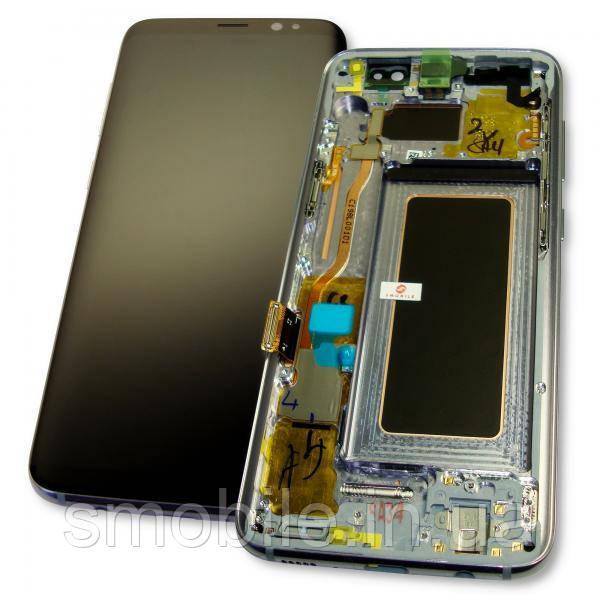 Samsung Дисплей Samsung G950F G950FD Galaxy S8 с сенсором и рамкой серого цвета GH97-20457C (оригинал 100%)
