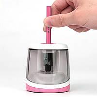 Точилка для карандашей электрическая Tihoo 8025 розовая