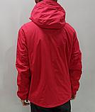 Ветровка мужская Nike красная, фото 2
